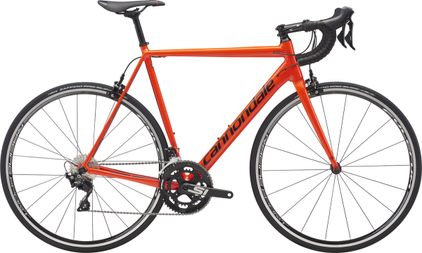 cannondale CAAD12, Shimano 105 11-speed, 52 cm, acid red 2019 Einzelstück!