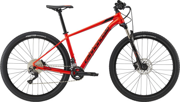 cannondale TRAIL 3, acid red, Modell 2018