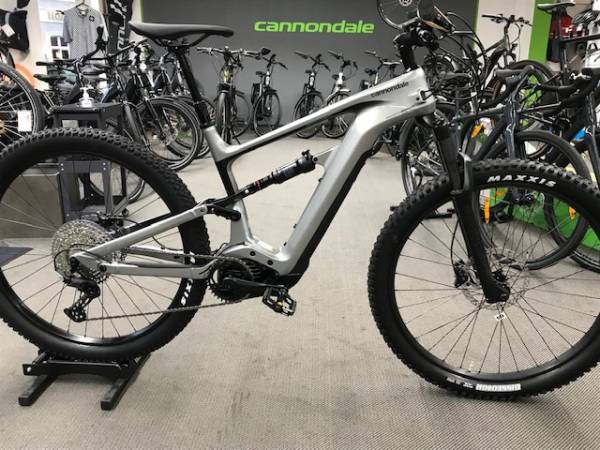 cannondale Habit NEO 4 Plus, 625 Wh., Large, grey,