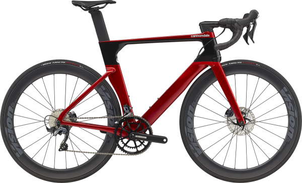 cannondale SystemSix Carbon Ultegra 2021, candy red, ab Mitte September