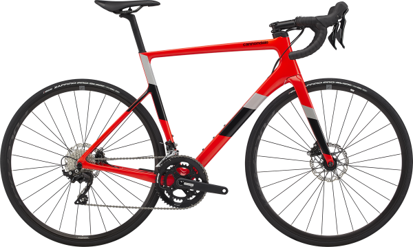cannondale SuperSix EVO Carbon Disc 105 2020 acid red