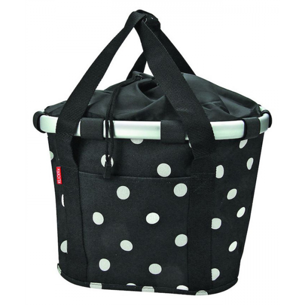 Reisenthel Bike Basket, black dots