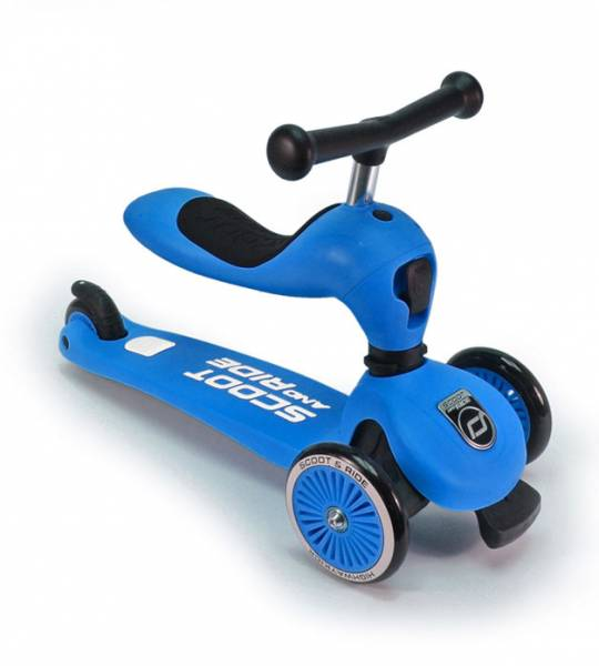 Scoot and Ride HIGHWAY KICK, blau, für Kinder von 1-5 Jahren