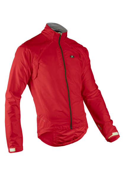 SUGOI Versa Bike Jacket, Windjacke & Weste in einem, rot, Gr. MEDIUM