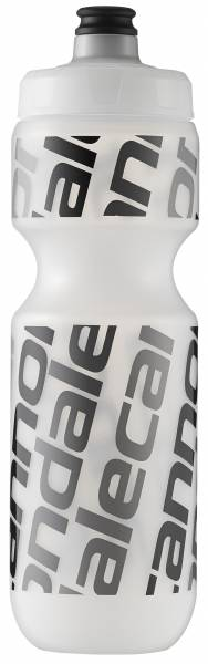 cannondale Flasche 0,6 l, white-clear