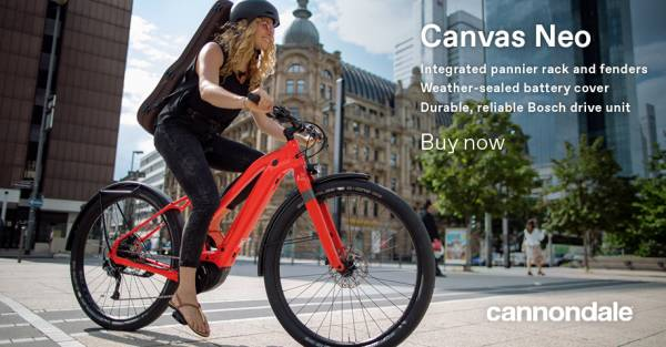 cannondale CANVAS NEO2 Lady , neon rot
