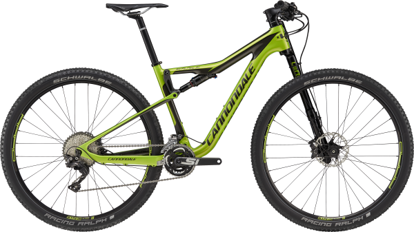 cannondale Scalpel Si-Carbon 4, acid green Mod.2018