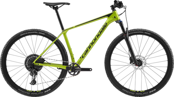 cannondale F-Si Carbon 5, green, Modell 2019