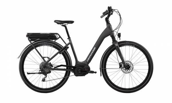cannondale Mavaro City Performance 4, matt anthrazit, 500 Wh. Mod.2018